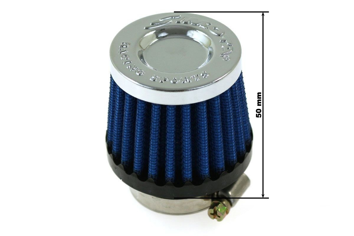 Moto Filtr stożkowy SIMOTA 28mm JAU-MG31223-23 - GRUBYGARAGE - Sklep Tuningowy